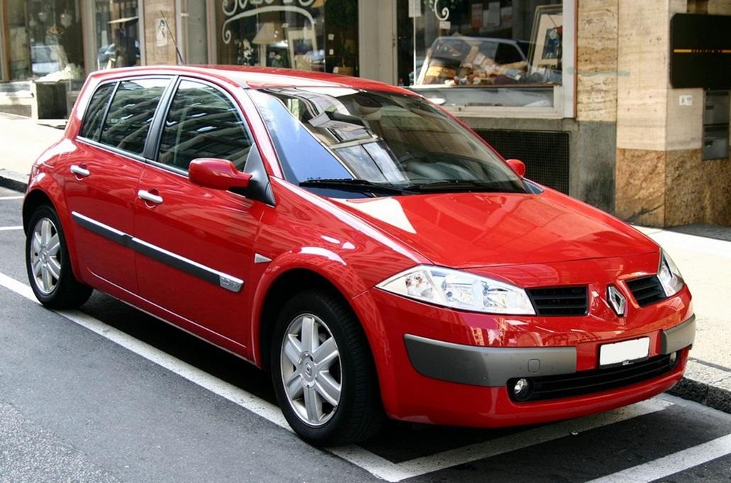 Второе поколение Renault Megane