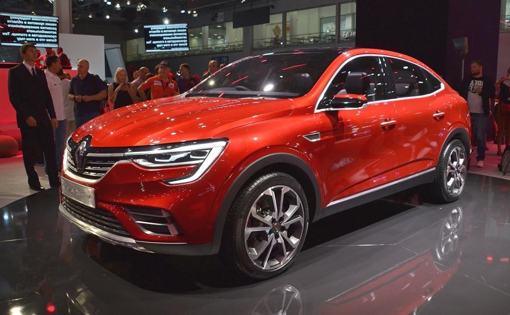 Концепт-кар Renault Arkana