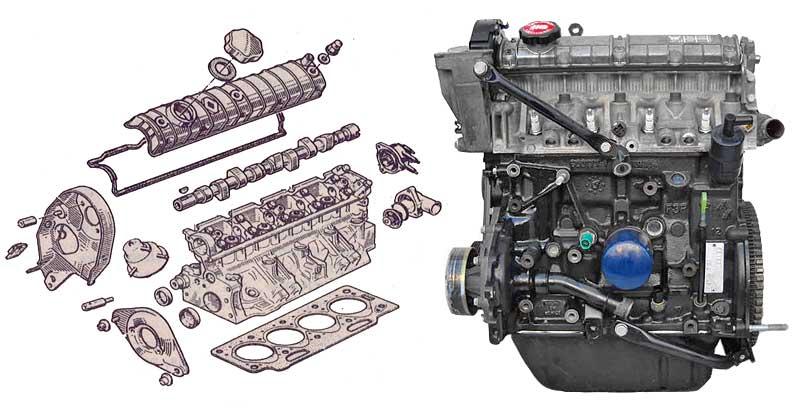 Двигатель f3p
