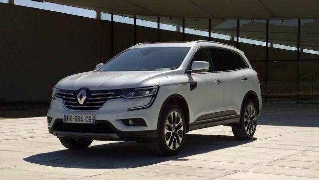 Renault Koleos второго поколения