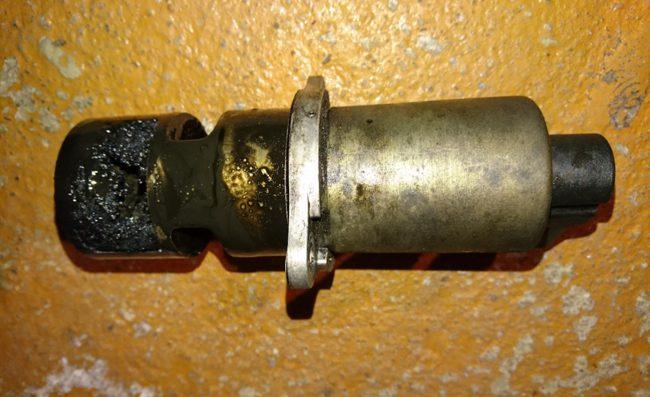 Загрязненный клапан ЕГР