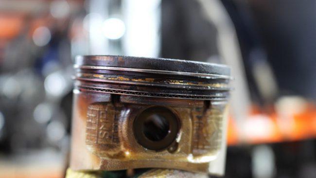 Закоксовка поршневых колец