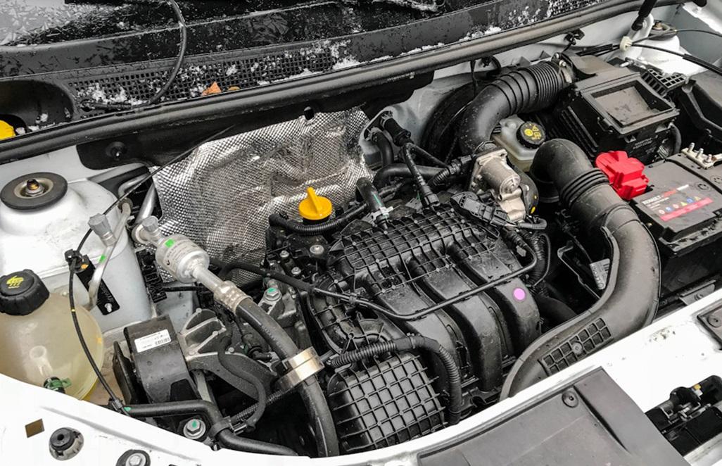 Под капотом Renault Logan H4D