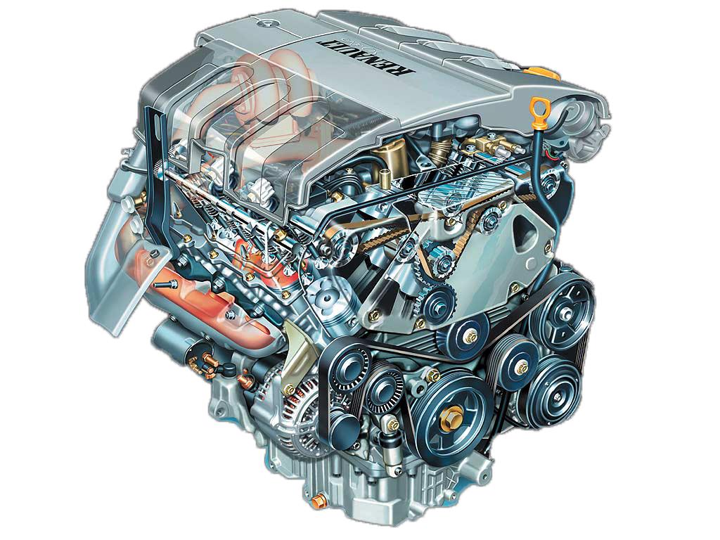 Двигатель Renault P9X