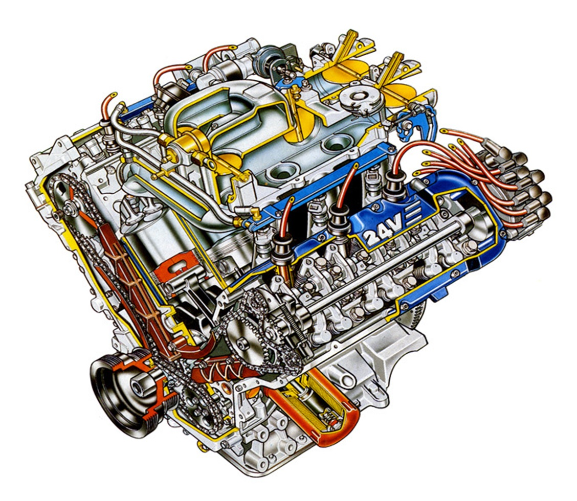 Схема двигателя z7u