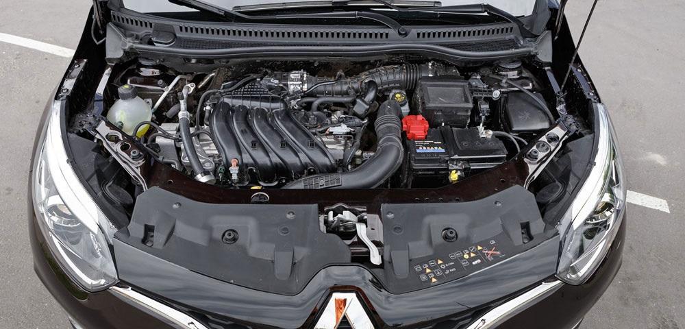 Рено Дастер двигатель 1.6 h4m