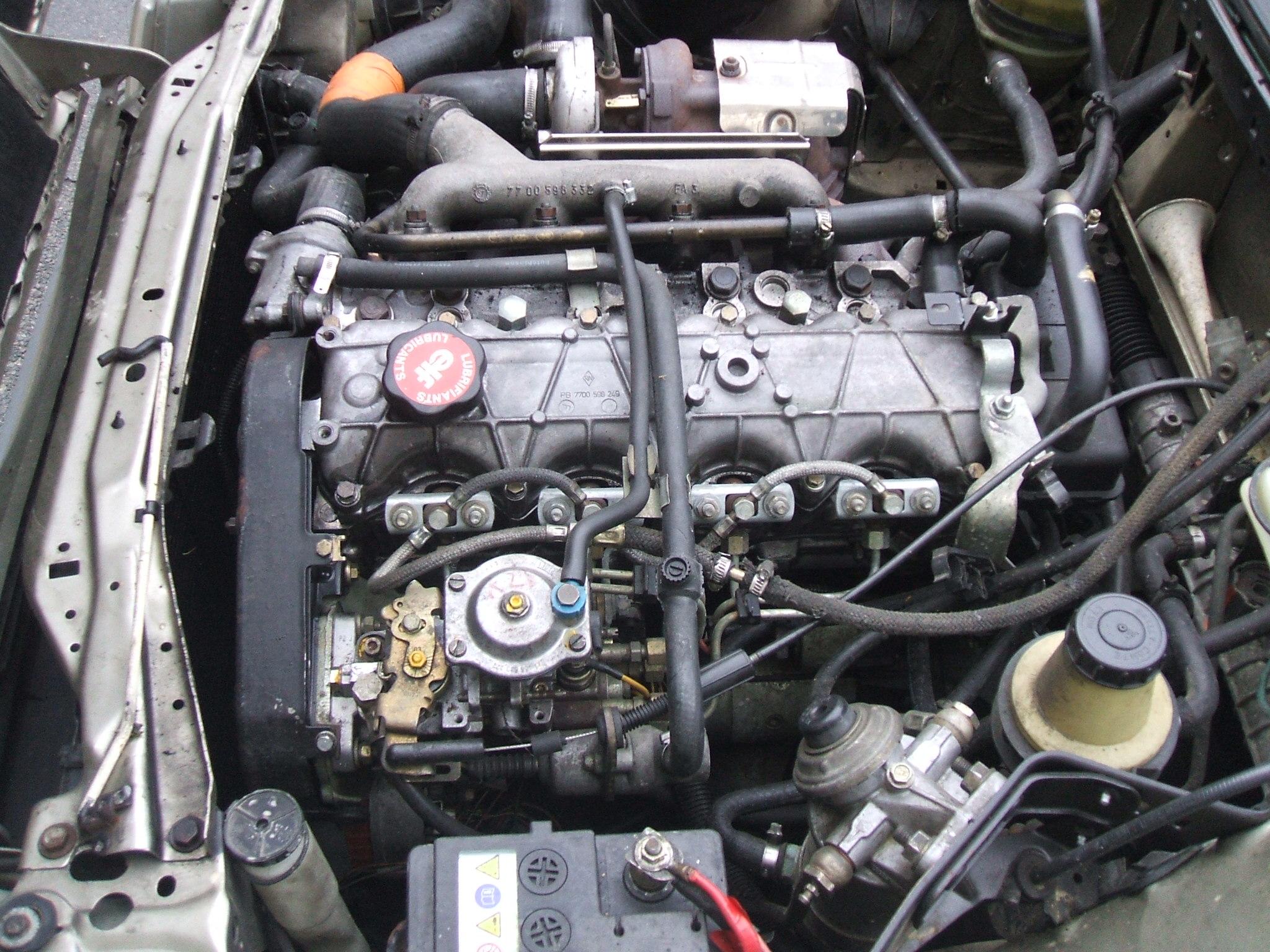 Двигатель j8s Рено Эспейс