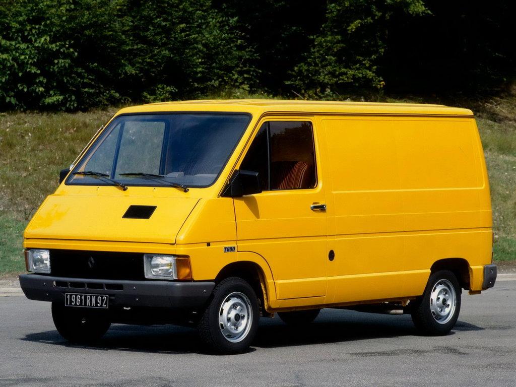 Renault Trafic 1980
