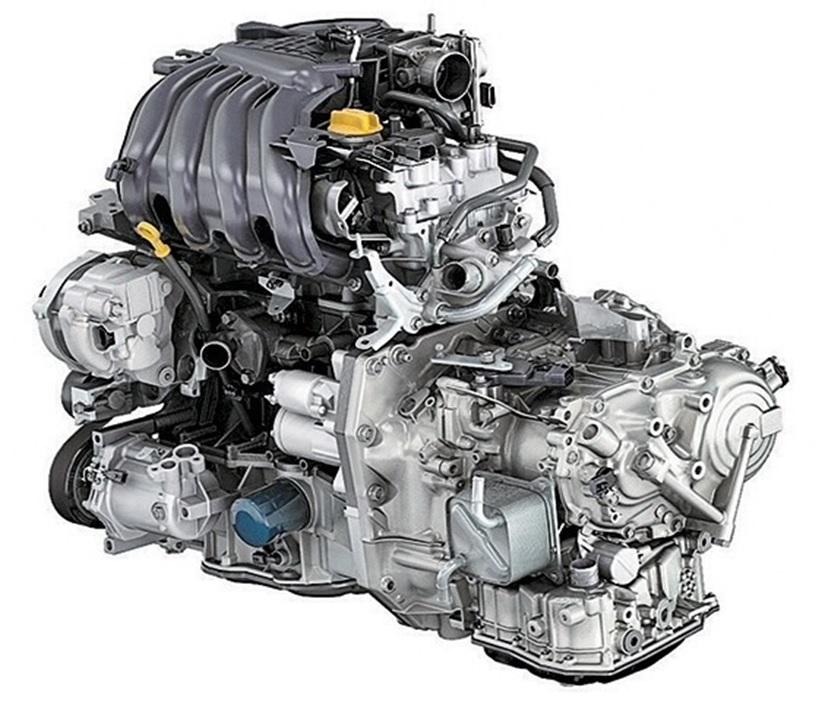 Двигатель H4Mk