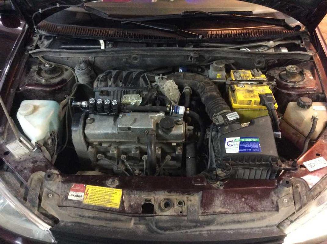 Двигатель ВАЗ 11183